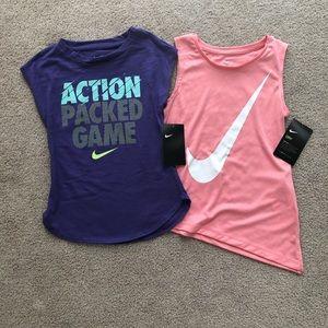 Size 6 Nike Tops NWT